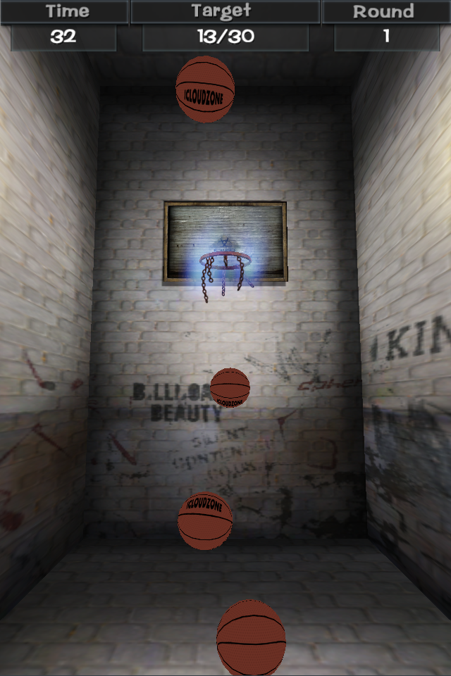 Screenshot Flick Basketball 3D